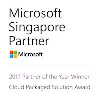 Singapore Microsoft Cloud Partner of the Year in 2017