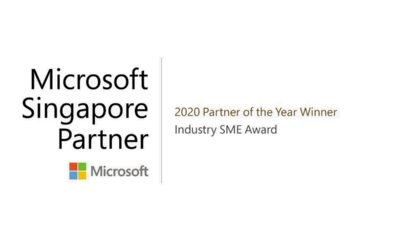 Press release – AXIOM IT Solutions Pte Ltd recognised as winner of Industry SME Award at the 2020