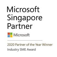 Singapore Microsoft Cloud Partner of the Year in 2020